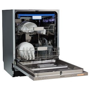 MEDION® Vollintegrierbare Geschirrspülmaschine MD 37540, 14 Maßgedecke, Turbotrocknung, 8 Reinigungsprogramme, elektronischer Aquastopp