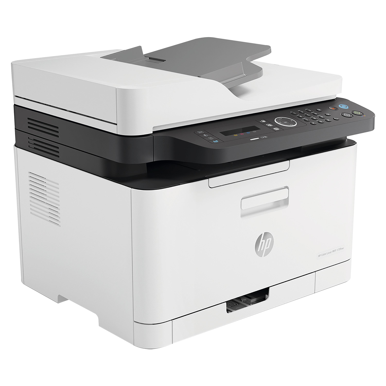 HP Color Laser MFP 179fwg, 4-in-1 Multifunktionsgerät, weltweit kleinster seiner Klasse, Drucken und Scannen vom Handy aus, kräftiges schwarz und leuchtende Farben