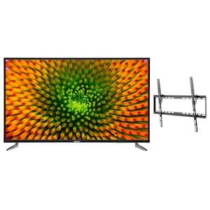 MEDION® LIFE® P16512 163,8 cm (65'') Ultra HD TV + GOOBAY Basic TILT (L) Wandhalterung - ARTIKELSET