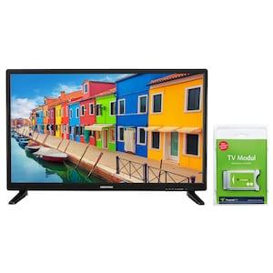 MEDION® LIFE® E12836 TV, 69,9 cm (27,5'') HD Fernseher, inkl. DVB-T 2 HD Modul (3 Monate freenet TV gratis) - ARTIKELSET