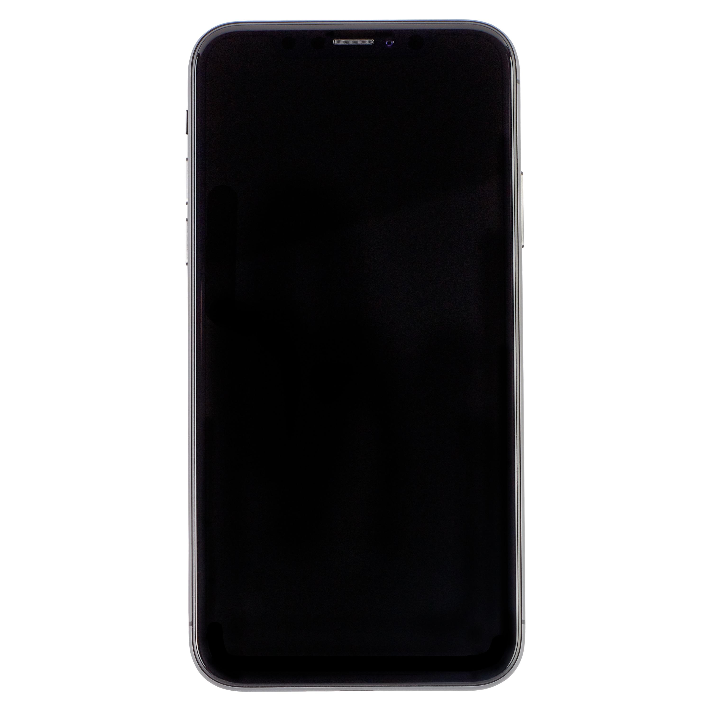 APPLE iPhone X 64 GB, schwarz (generalüberholt)