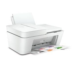 HP DeskJet Plus 4110 All-in-One Drucker - Drucken. Kopieren. Scannen. Mobiler Faxversand, Dual-Band WiFi, Bluetooth®, HP Instant Ink geeignet