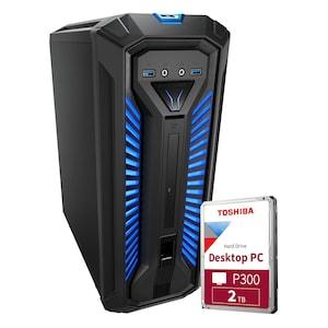 MEDION® ERAZER® Bandit P10 Core Gaming PC + 2 TB HDD - ARTIKELSET