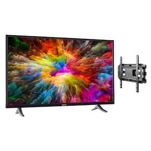MEDION® LIFE® X14311 Smart-TV, 108 cm (43'') Ultra HD Display + Wandhalterung - ARTIKELSET