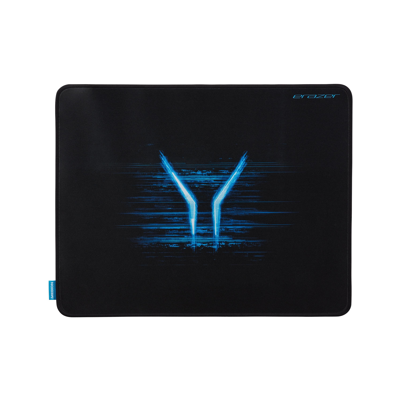 MEDION® X89112 Gaming Mauspad, leistungsfähige textile Oberfläche, Unterseite aus Naturkautschuk, kompatibel mit optischen und Lasermäusen