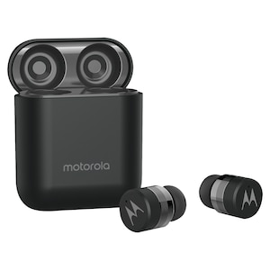 MOTOROLA Vervebuds 110 In-Ear-Kopfhörer, Bluetooth® 5.0, intelligenter Sprachassistent, Freisprechfunktion, Stereo-Sound, Touchcontrol, für Smartphone, Tablet oder PC