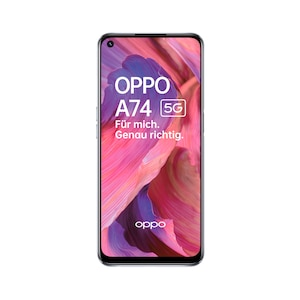 OPPO A74 5G 128 GB, space silver