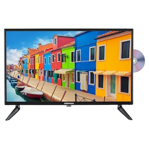 MEDION® LIFE® E12423 Fernseher, 60,5 cm (23,8'') LCD-TV, Full HD, HD Triple Tuner, integrierter DVD-Player, Car-Adapter, integrierter Mediaplayer, CI+
