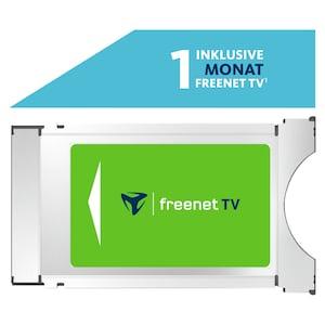 TELESTAR freenet TV CI+ Modul, für DVB-T2 HD und 4K/UHD geeignete Geräte, ermöglicht den Empfang via DVB-T2 HD ausgestrahlter verschlüsselter TV-Programme im Rahmen des freenet TV Angebotes, inkl. 1 Monat freenet TV