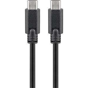 GOOBAY USB-C™ 3.1 Generation 1 Kabel, SuperSpeed Datenübertragungen bis 5 Gbit/s – 10-mal schneller als USB 2.0