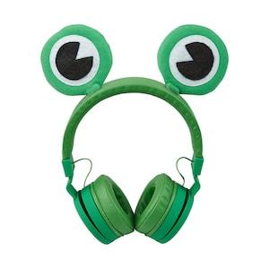 MEDION® LIFE® E62229 Kinderkopfhörer, coole Tierdesigns mit Magnetöhrchen, flexibel, biegsam und strapazierfähig, Musik-Sharing-Funktion, Lautstärkebegrenzung, Klinkenanschluss