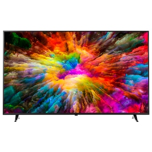 MEDION®  LIFE® X16506 Smart Fernseher, 163,8 cm (65) LED-Backlight, Ultra HD, HD Triple Tuner, HDR, DTS-Sound, WLAN, Netflix (B-Ware)
