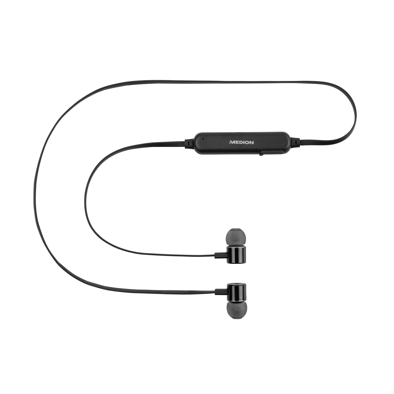 MEDION® LIFE® S62024 Alexa Bluetooth® In-Ear-Kopfhörer, steuerbar mit der Stimme, Freisprechfunktion, 4 Std. Musikspielzeit (B-Ware)