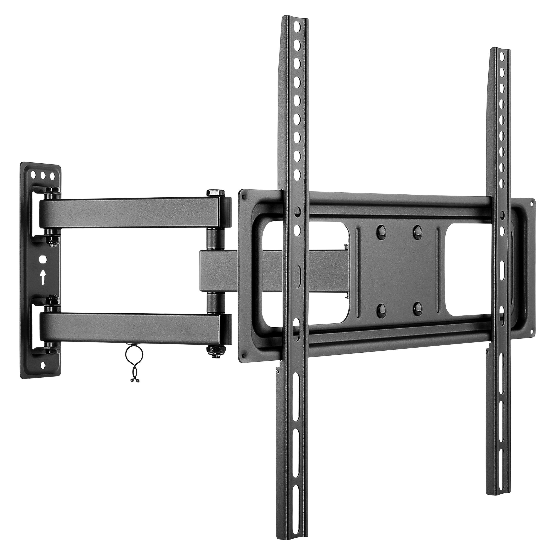 GOOBAY Basic FULLMOTION (M) Wandhalterung, für Fernseher von 81-140 cm (32''-55''), vollbewegliches Doppelarmgelenk (schwenkbar und neigbar), max. Traglast 35 kg
