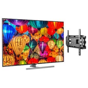 MEDION® LIFE® S14901 Smart-TV, 123,2 cm (49'') Ultra HD Display + Wandhalterung - ARTIKELSET