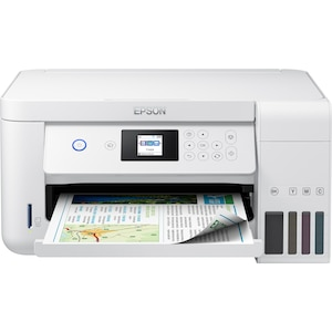 EPSON EcoTank ET-2756 Drucker, Multifunktionsgerät, Drucken, Kopieren, Scannen, LC-Farbdisplay, WiFi