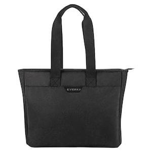 EVERKI 418 Shopper schoudertas | voor apparaten tot 15.6'' | veel opbergruimte | gewatteerd compartiment voor laptops | comfortabele & anti-slip riem | elegant design