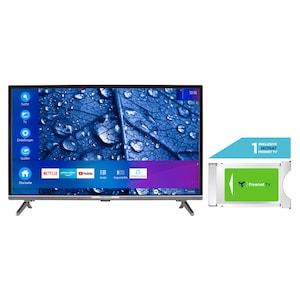 MEDION® LIFE® P13225 80 cm (31,5'') Full HD Smart-TV + DVB-T 2 HD Modul (1 Monat freenet TV gratis) - ARTIKELSET