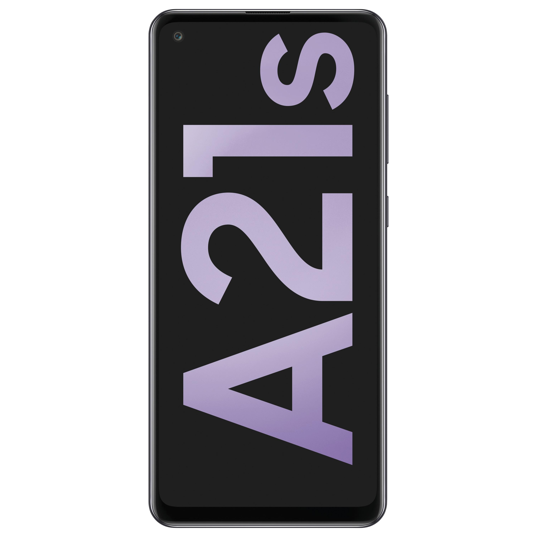 SAMSUNG Galaxy A21s, schwarz