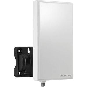 TELESTAR ANTENNA 3 LTE, Flachantenne zum Empfang digital-terrestrischer TV-(DVB-T2, DVB-T) und analoger UKW Radiosignale, mit LTE Filter, geeignet für Outdoor- und Indooreinsatz