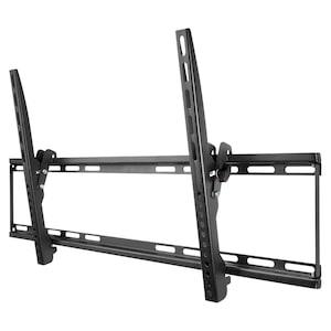 WENTRONIC TV EasyFlex Slim XL Wandhalterung, für TVs von 94 cm-190 cm (37''-75''), flexibel um bis zu 10° neigbar, max. Traglast 75 kg