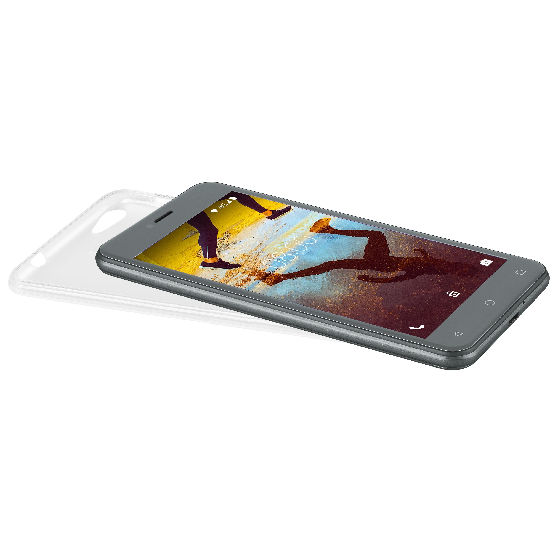 MEDION® Smartphone bescherm hoesje MD 61038 | Perfecte bescherming | TPU materiaal | Passende vorm