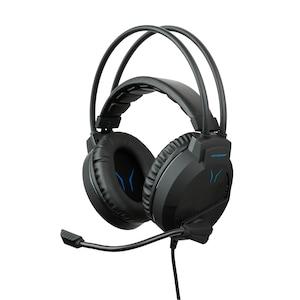 MEDION® ERAZER® X83009 2.0 Stereo Gaming Headset, überragende Klang- und Lautsprecherqualität, leistungsstarke Basswiedergabe, integrierters Mikrofon, Over Ear-Design
