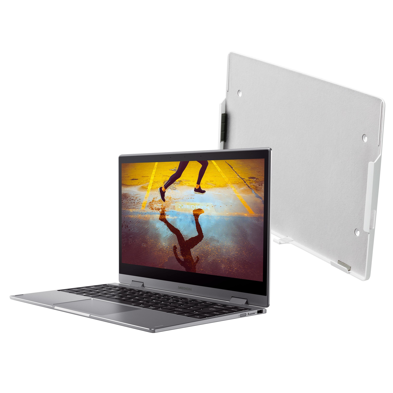 MEDION® AKOYA® S14405, 35,5 cm (14'') Convertible Notebook, inkl. SoftMaker Office Standard 2021  + Halterung - ARTIKELSET