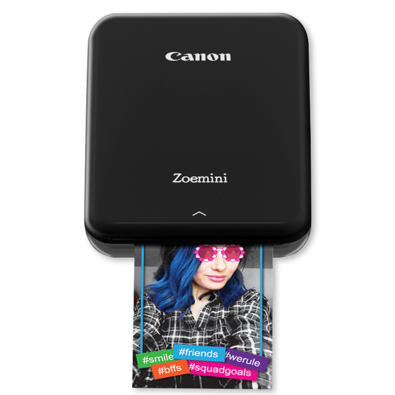CANON Zoemini P89242, tragbarer Drucker, Bluetooth®, eingebauter Akku, Canon Mini Print App