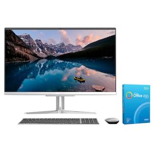 MEDION® AKOYA® E27301, AMD Ryzen™ 5 3500U, Windows10Home, 68,6 cm (27) FHD Display, 512 GB SSD, 8 GB RAM, Aluminium-Design, All-in-One PC