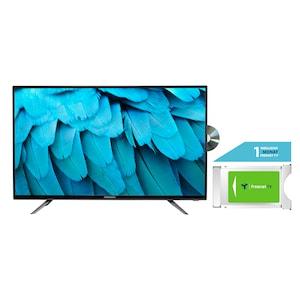 MEDION® LIFE® E14085 100,3 cm (40'') Full HD TV + DVB-T 2 HD Modul (1 Monat freenet TV gratis) - ARTIKELSET