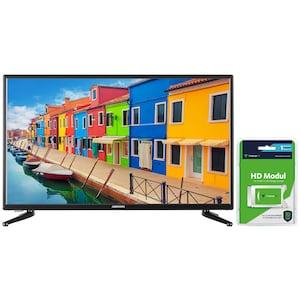 """MEDION® LIFE® E13225, LED-Backlight TV, 80 cm (31,5""""), inkl. DVB-T 2 HD Modul (1 Monat freenet TV gratis) - ARTIKELSET"""