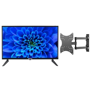 MEDION® LIFE® E12462 59,9 cm (23,6'') Full HD LCD-TV + GOOBAY Basic FULLMOTION (D20) Wandhalterung - ARTIKELSET