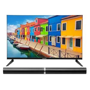 MEDION® Offre combinée ! LIFE E13212 LCD-TV 31,5 Pouces avec Lecteur DVD & P61202 Barre de son 2.0 avec Bluetooth