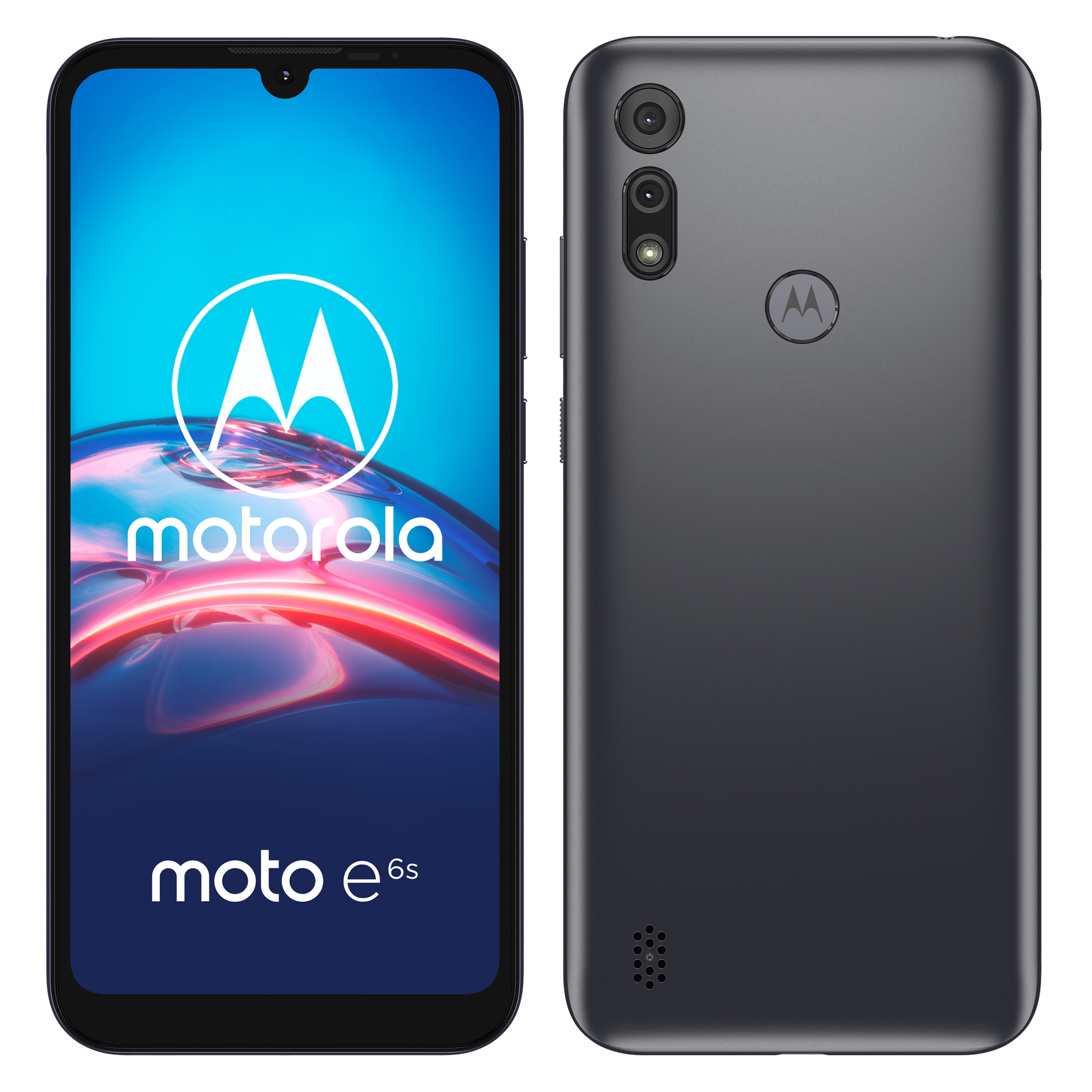 MOTOROLA Moto e6s, 15,5 cm (6,1''), HD+ Display, Android™ 9 Pie, 32 GB Speicher, 2 GB RAM, Octa-Core Prozessor, Dual-SIM, LTE
