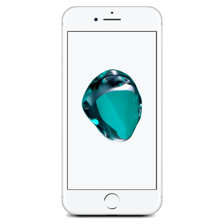 APPLE iPhone 7 128 GB, silber (generalüberholt)