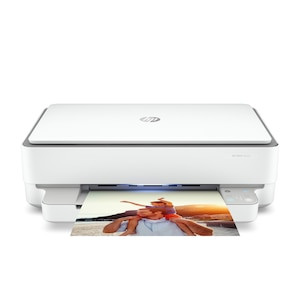 HP Envy 6030 All-in-One Drucker, Bluetooth® 5.0, Dual-Band WiFi, Drucken, Kopieren, Scannen, Wireless- und HP Smart App geeignet
