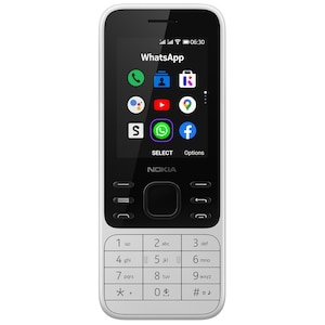 NOKIA 6300 4G, powder white