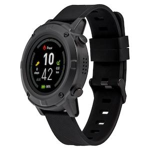 MEDION® LIFE® GPS Sportuhr S2400, 1,3'' Farbdisplay, Herzfrequenzmesser, Multi-Sport Modi, integriertes GPS Modul, Staub- und Wasserschutz nach IP68
