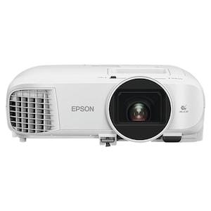 EPSON EH-TW5400 Full-HD Projektor, 1080p, 2500 Lumen, Entertainment im Großformat, Kontrastverhältnis von 30.000:1, Lampenlebensdauer 7500 Stunden, HDMI, VGA, USB 2.0