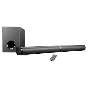MEDION® LIFE® P61216 TV-Soundbar mit Subwoofer, flexibel aufstellbar, Bluetooth® 5.0, HDMI® (ARC) mit CEC, optischer Eingang, 3 Soundeinstellungen  (B-Ware)