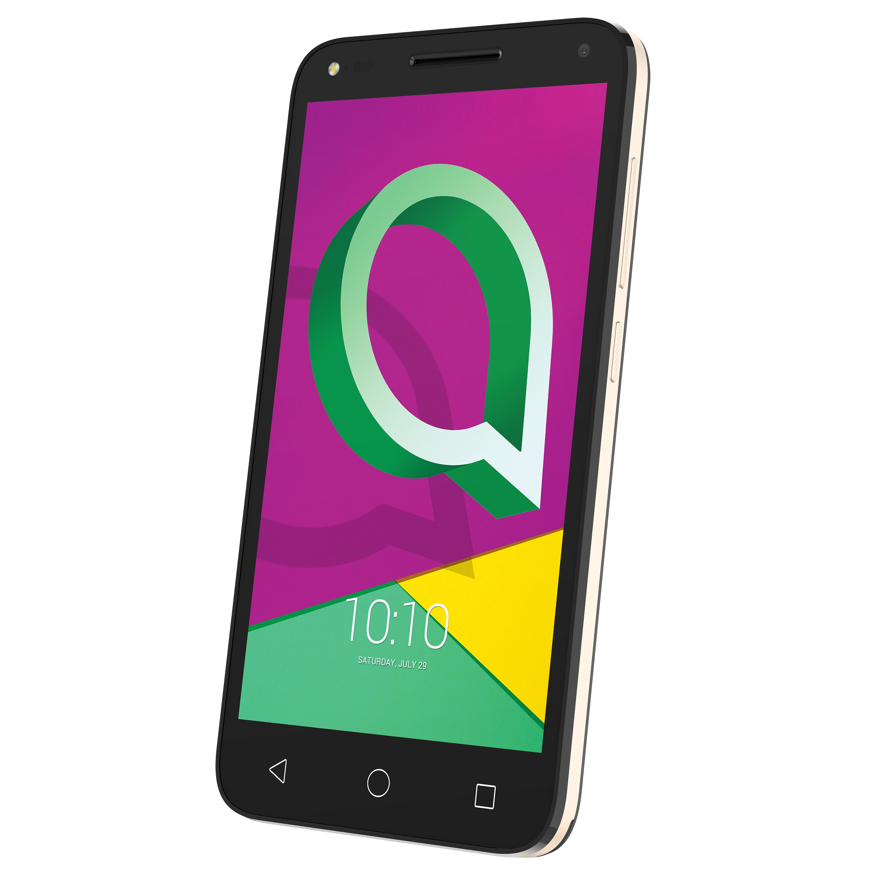 ALCATEL U5 4047F Smartphone, 12,7 cm (5'') HD Display, Android™ 7.0, 16 GB Speicher, 1 GB Arbeitsspeicher, Quad-Core-Prozessor, Bluetooth® 4.2
