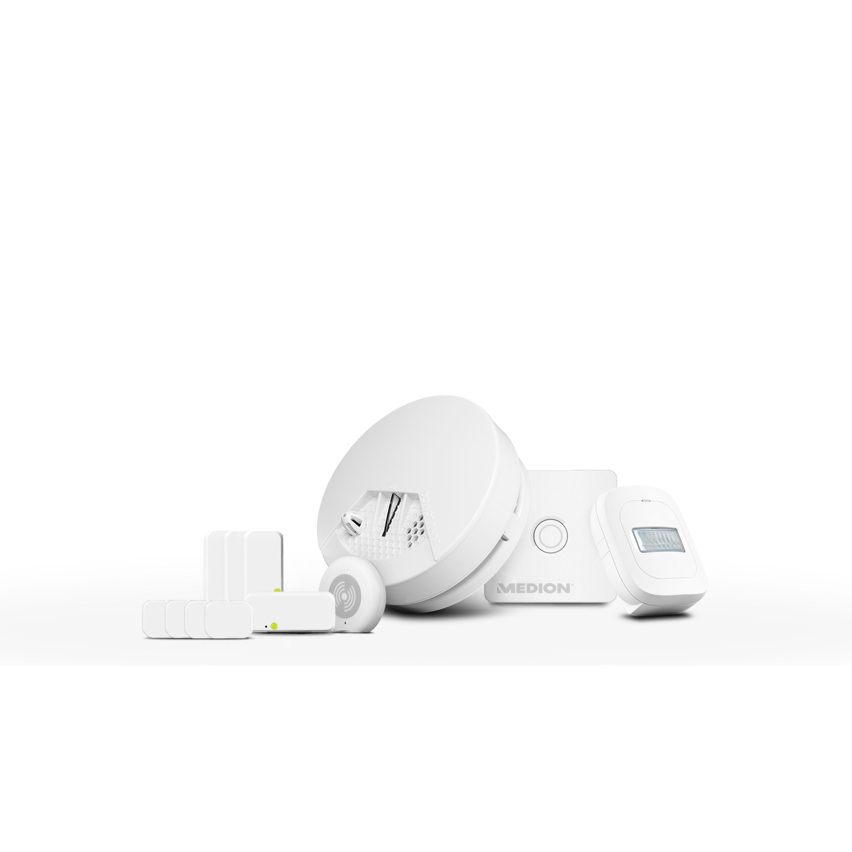 MEDION® P85754 Smart Home Starter Set für Einsteiger - Sofort mehr Sicherheit zu Hause