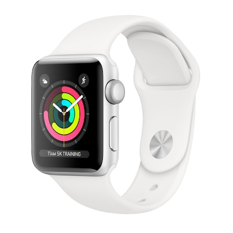 APPLE Watch Series 3 Renewd 42 mm, weiß/silber