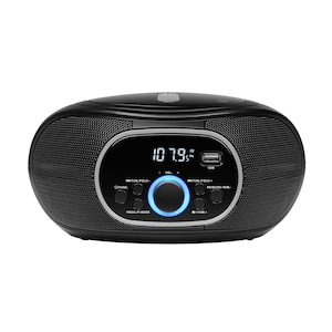 MEDION® LIFE® E65711 Boombox mit CD/MP3-Player, PLL-UKW Stereo-Radio, AUX, USB Anschluss, 2 x 12 W