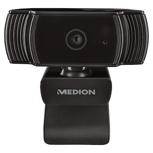 MEDION® LIFE P86366 webcam | FHD video resolutie met 30 FPS | Microfoon | Fotomodus | Autofocus | Flexibel verstelbaar | Plug & Play