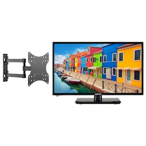 MEDION® BundelDEAL ! LIFE E12443 23 inch LCD-TV met DVD player & GOOBAY Basic FULLMOTION (D20) Muurbevestiging