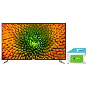 MEDION® LIFE® P15511 138,8 cm (55) Ultra HD TV + DVB-T 2 HD Modul (1 Monat freenet TV gratis) - ARTIKELSET