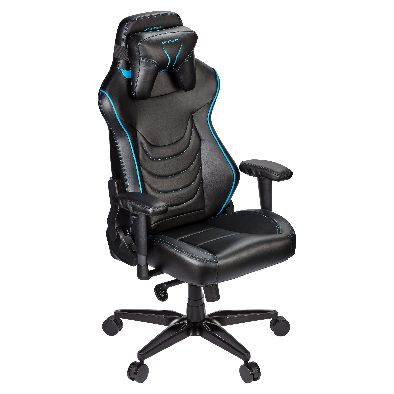 MEDION® ERAZER® Druid X10, Gaming Stuhl mit hohem Sitzkomfort, sportlichen Look, abnehmbares Kopfkissen