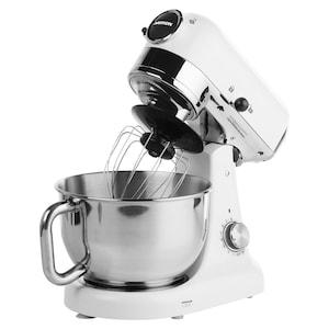 MEDION® Premium-Küchenmaschine MD 16480, 1.000W Leistung, Mischen, Kneten, Rühren, 8 Geschwindigkeitsstufen, Edelstahl-Rührschüssel
